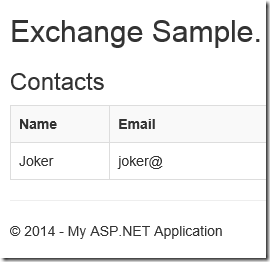 Microsoft provides a RESTful API for Exchange – Part 1